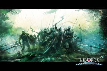 NIBOREA: Battle by Prasa