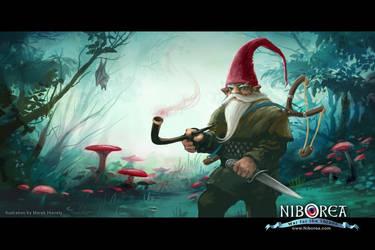 NIBOREA: Gnome by Prasa