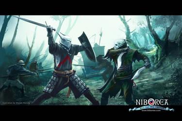NIBOREA: Mortal vs. Eternal by Prasa