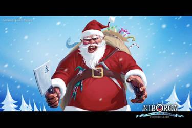 Bad Boy Santa by Prasa