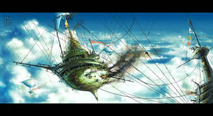 Sky Battle by Prasa
