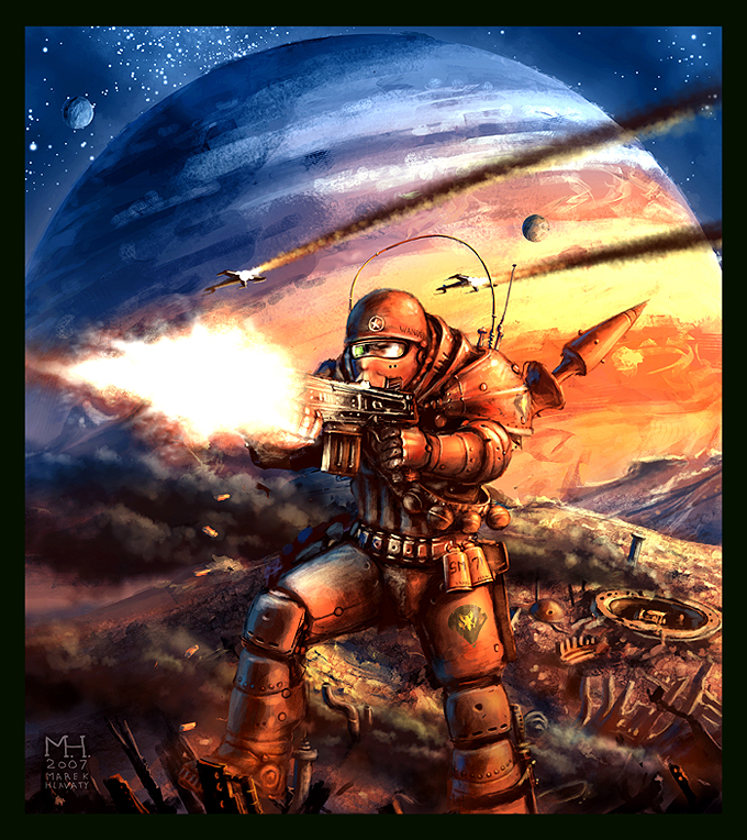 Space Marine by Prasa