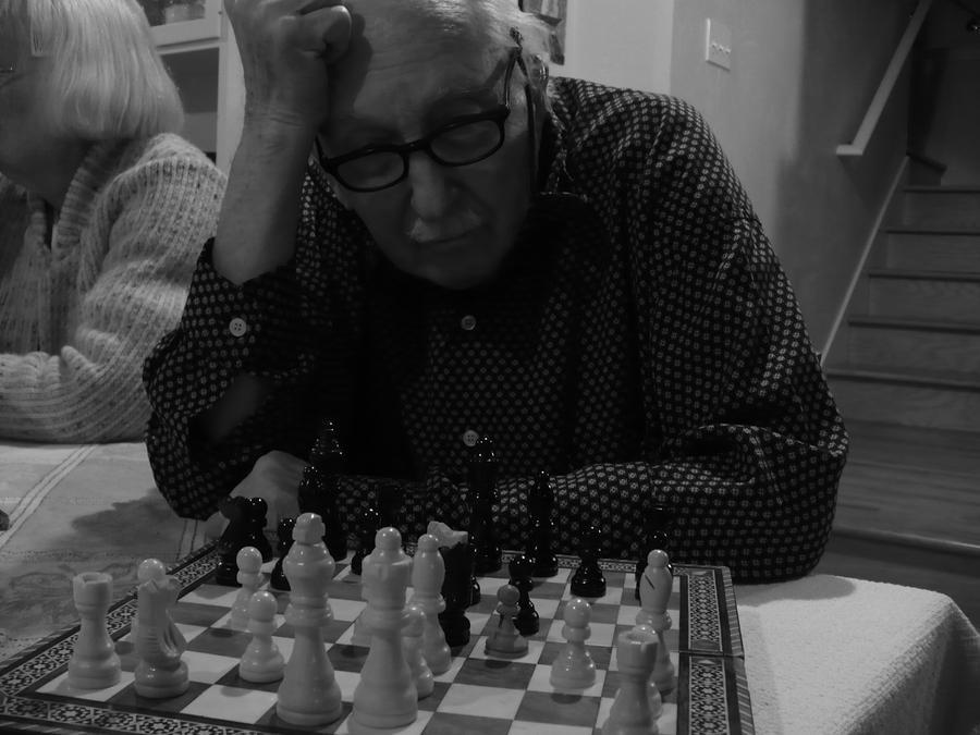Senior Chess by wabitgirl