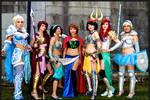 Disney Battle Princesses
