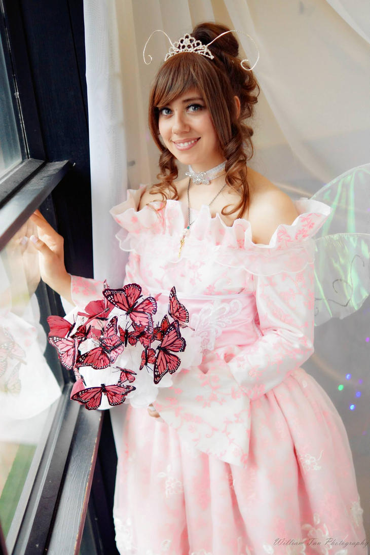 My Cardcaptor Sakura Inspired Wedding Dress by Pompay