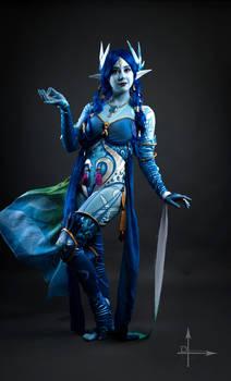 Shiva Final Fantasy Cosplay