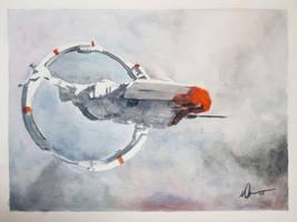 Stratios Watercolor - Eve Online