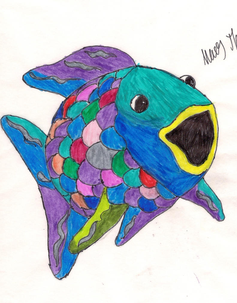 Rainbow Fish Clipart Rainbow Fish by