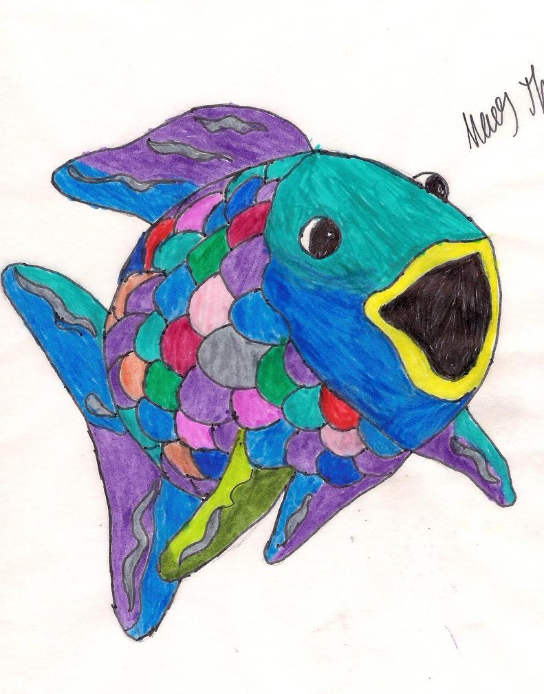 Rainbow fish by aceteddybearofdoom on deviantart for Rainbow fish pictures