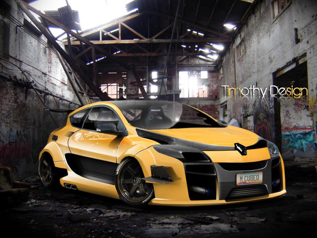Renault Megane Sport Interior Renault Megane Sport Wide Body