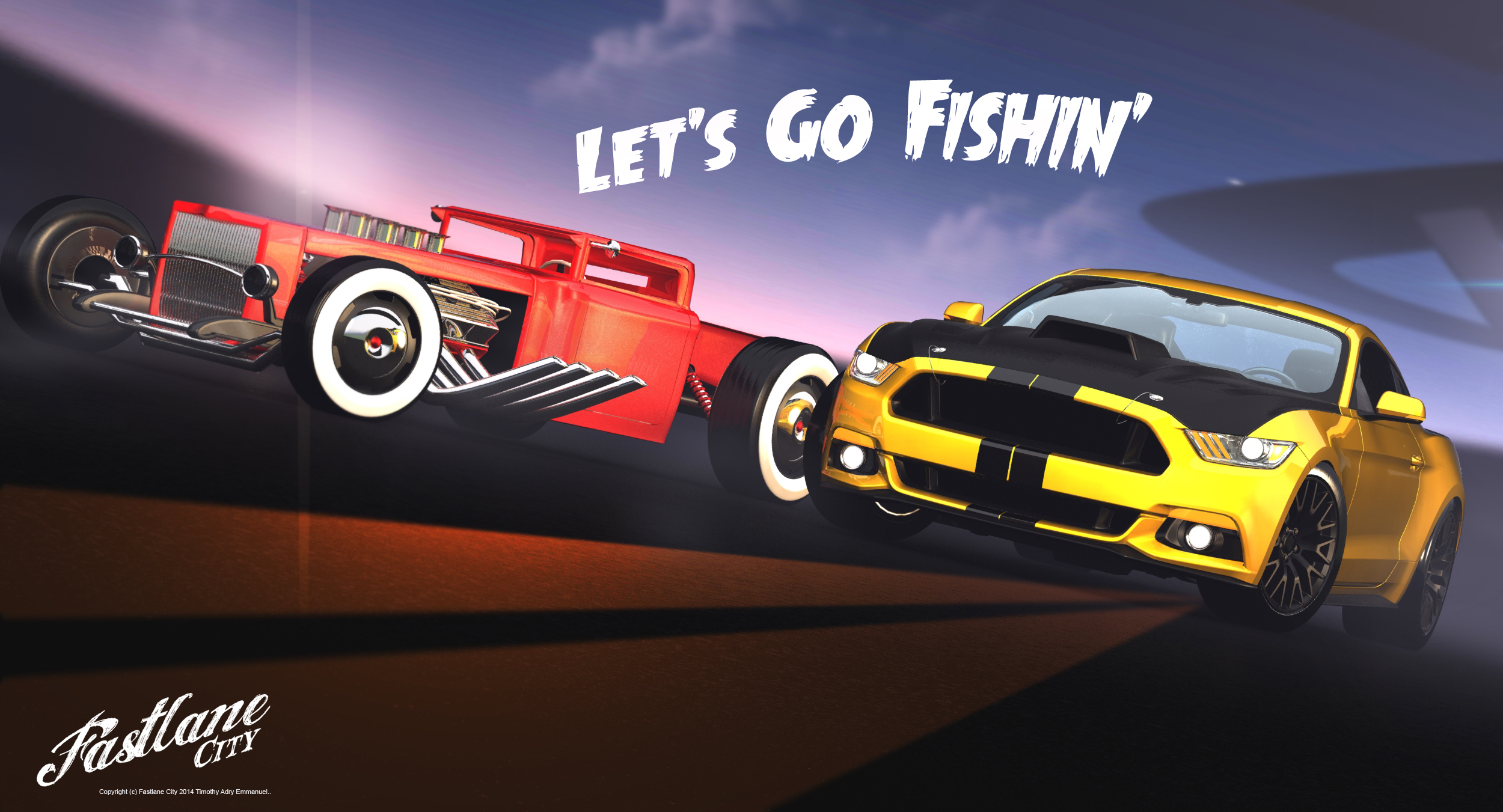 Fastlane City - LET'S GO FISHIN' by Adry53