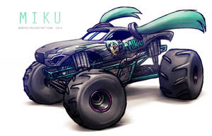 Monster Jam MIKU