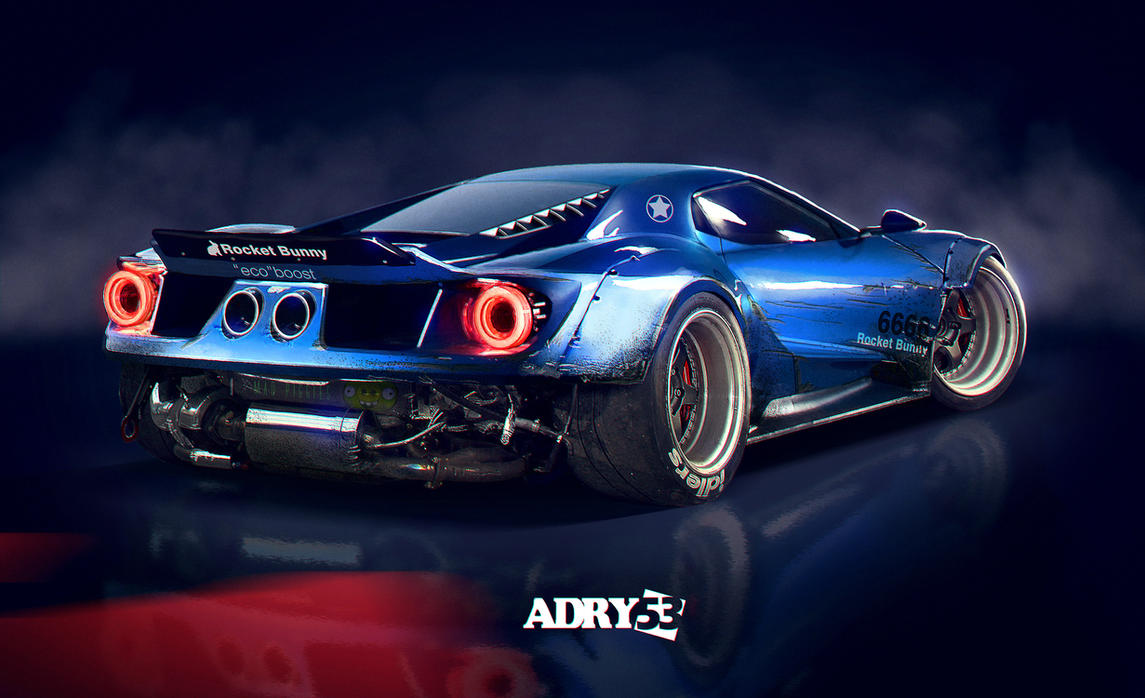 Evo 2017 Logo >> Ford GT Rocket Bunny by Adry53 on DeviantArt