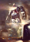 Turbo Megazord by Adry53