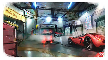 Uncle's Bob Garage by Adry53