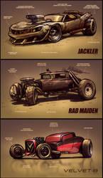 Fastlane city - Car Designs #1 by Adry53