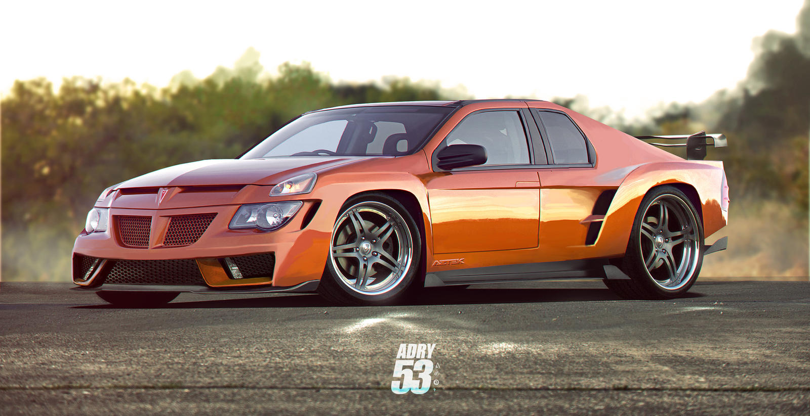 pontiac aztek super sport by adry53 on deviantart. Black Bedroom Furniture Sets. Home Design Ideas