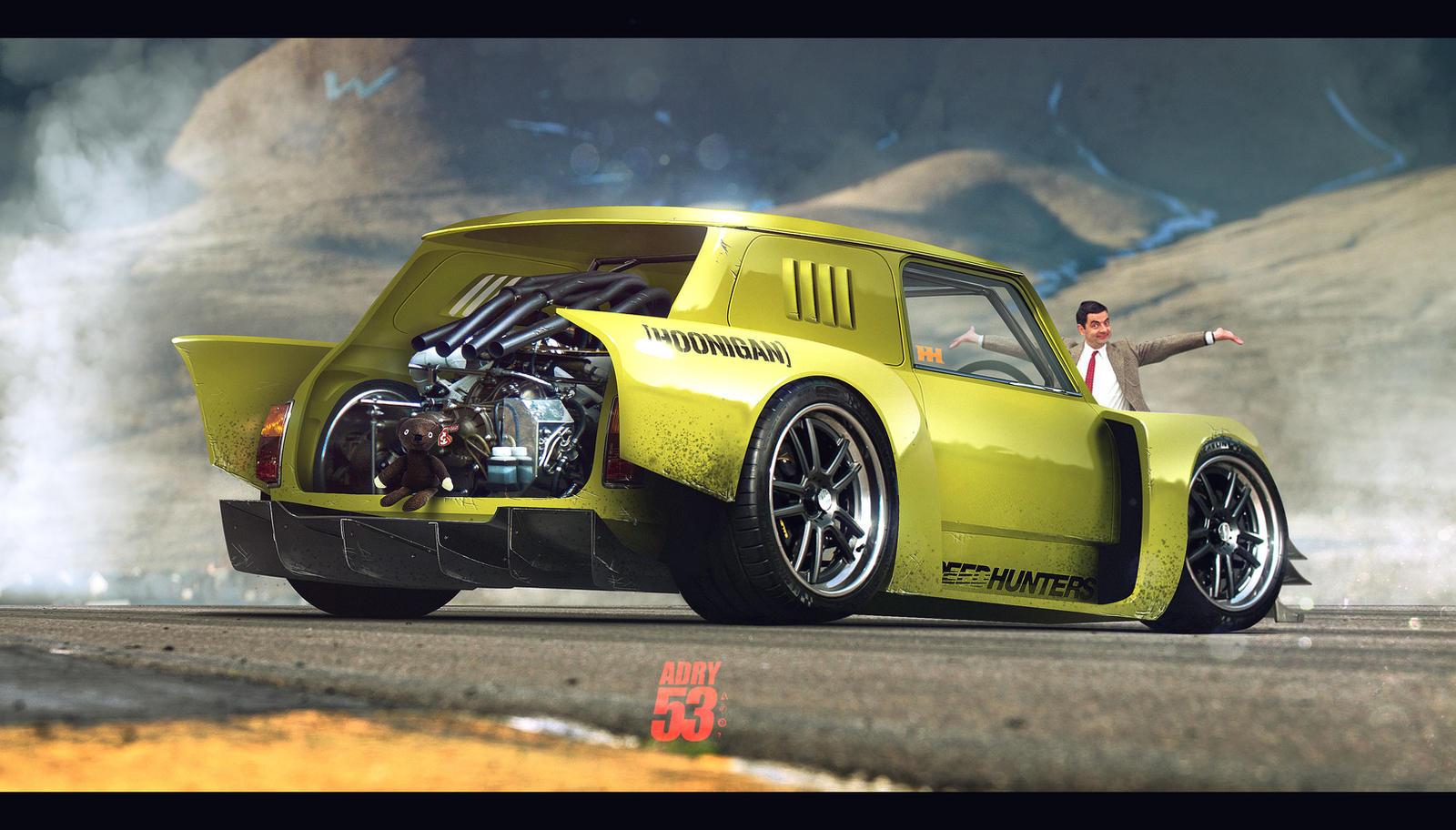 Mr Bean S Super Mini By Adry53 On Deviantart