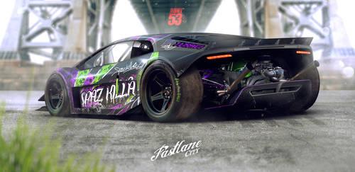 Spaz Killa by Adry53