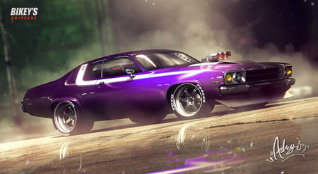 '73 Plymouth Road Runner - Hurstley by Adry53