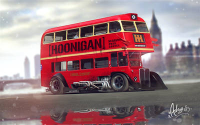Time Attack London Bus