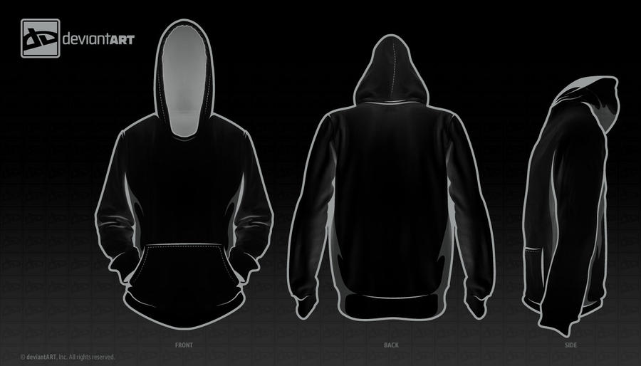 Black Hooded Sweatshirt Template Black hoodie template black owLsSTC4