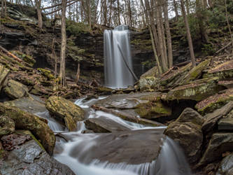 Jacoby Falls by kyleshikes