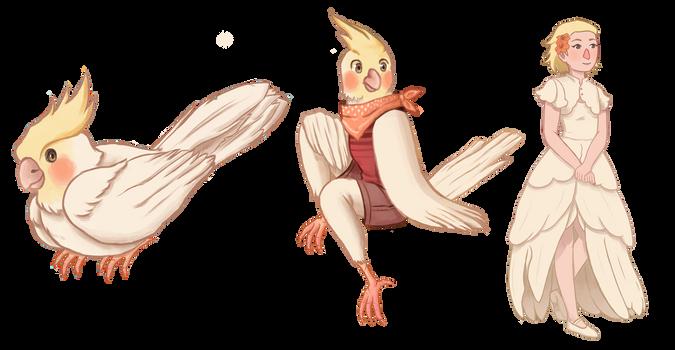 [Commission] Cockatiel