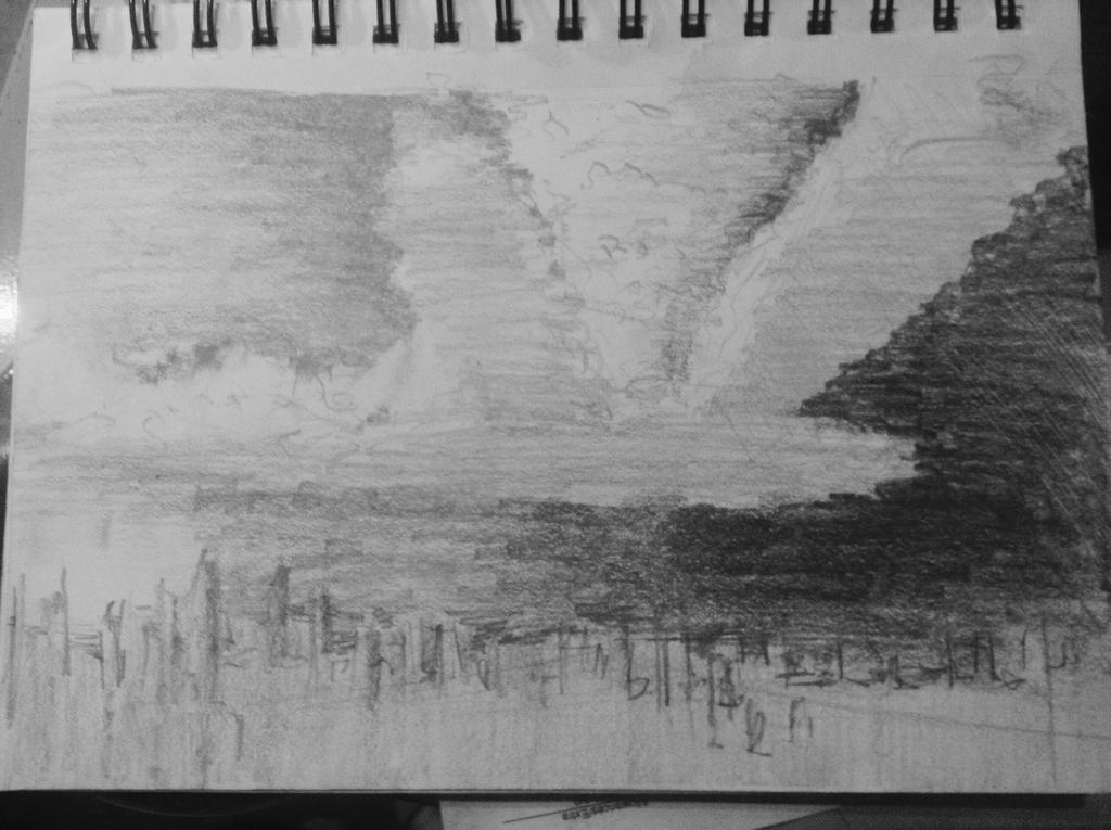 City in the sky by Murasakinu
