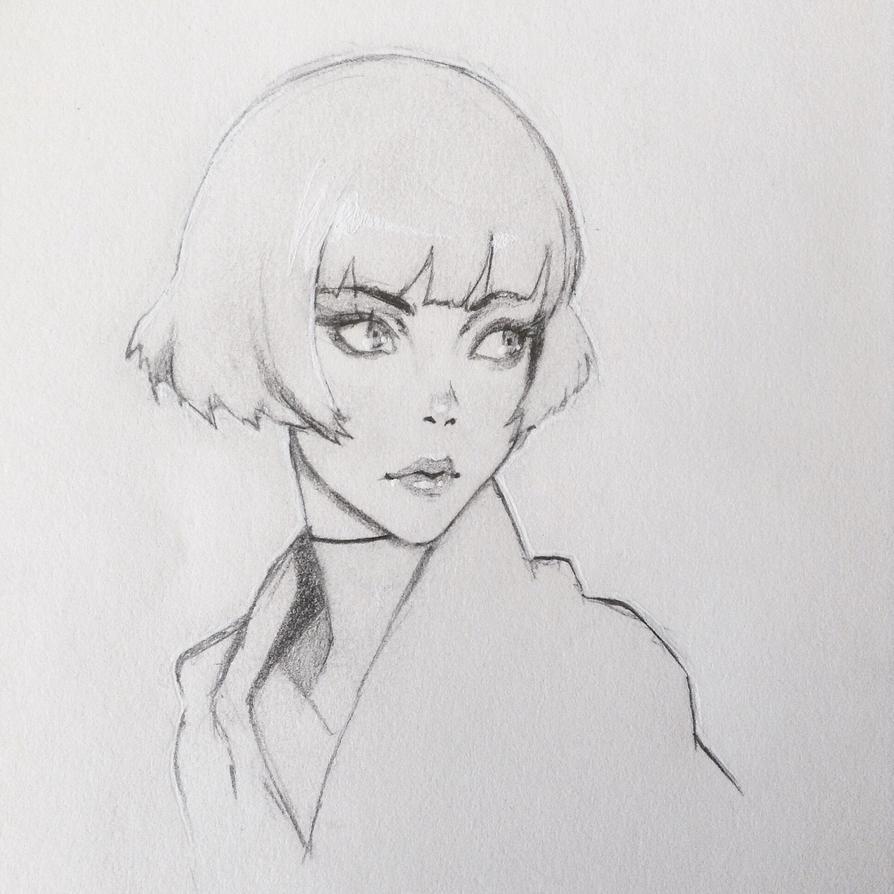 Ilya Kuvshinov Study by Murasakinu