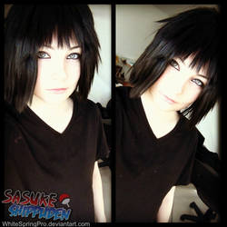Casuale Sasuke Uchiha by WhiteSpringPro