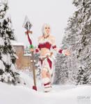 Snow Bunny Nidalee Cosplay