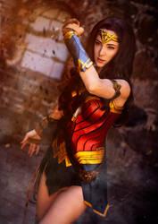 Wonder Woman Cosplay by WhiteSpringPro