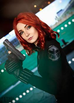 Avengers Black Widow Cosplay
