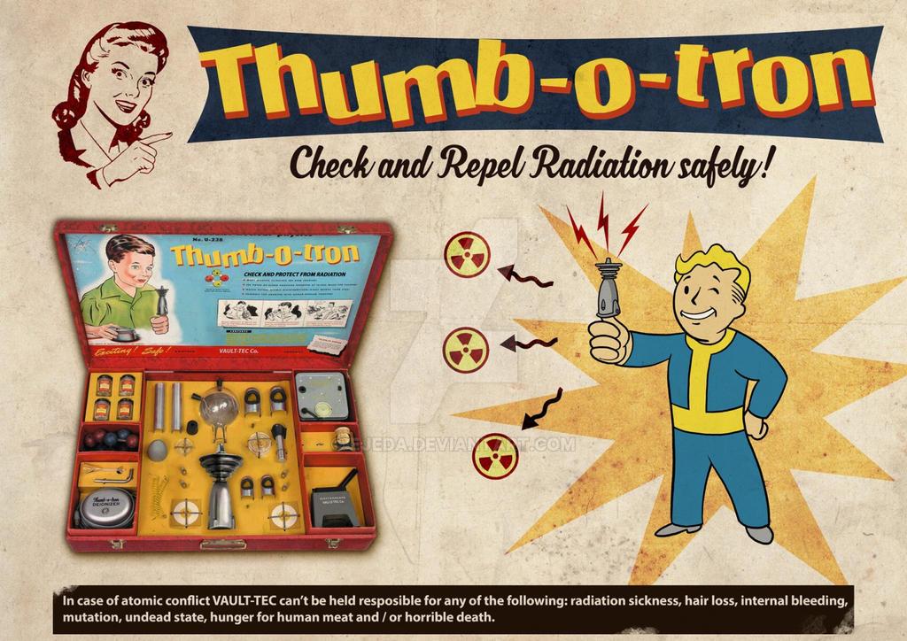 Dibujor Fallout RadCheck 3 by Ejeda