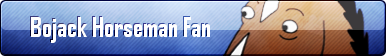 Bojack Horseman Fan Button by Child-of-Sun-Flowers