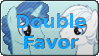DoubleFavor Stamp by Child-of-Sun-Flowers