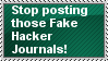 Fake Hackers Stamp by AmetrineDragon