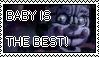 FNaF:SL - Circus Baby Stamp by AmetrineDragon