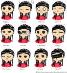 many faces of Tom
