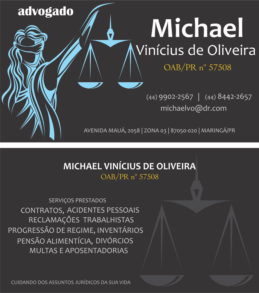 Lawyer business card by michaelvoliveira on DeviantArt