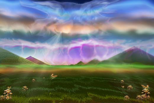 Mayan Sunset Dream
