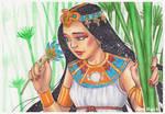 .Egyptian Girl.