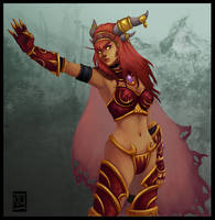 Lady Alexstrasza by Lihony