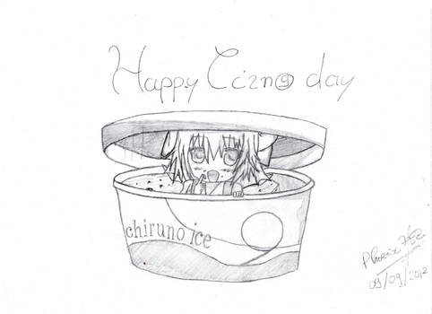 Happy Cirno Day :3