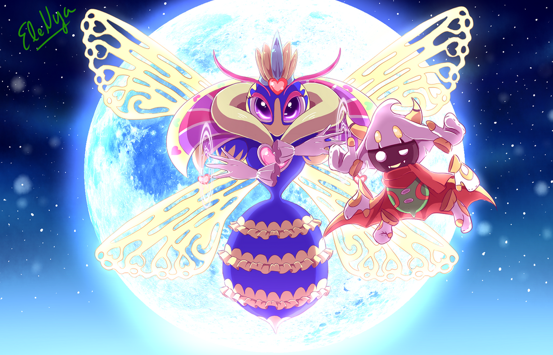 Nya Kirby Wallpaper: Queen Of The Heavens By Ele-nya On DeviantArt