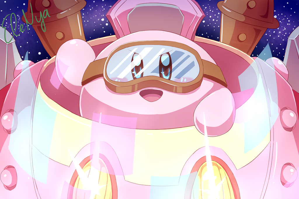 Nya Kirby Wallpaper: Robo Suit: On By Ele-nya On DeviantArt