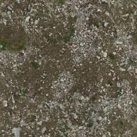 Seamless tileable dirt texture