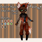Auction Adoptable: Maned Wolf Boy