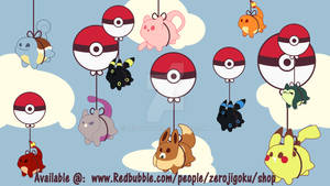 Pokemon Balloon Rides
